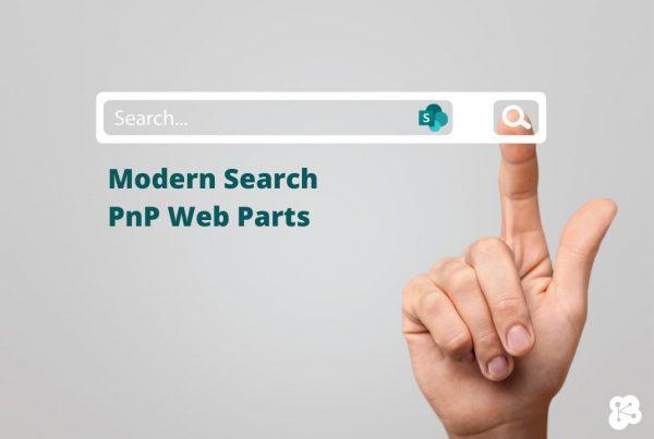 Modern Search PnP Web Parts
