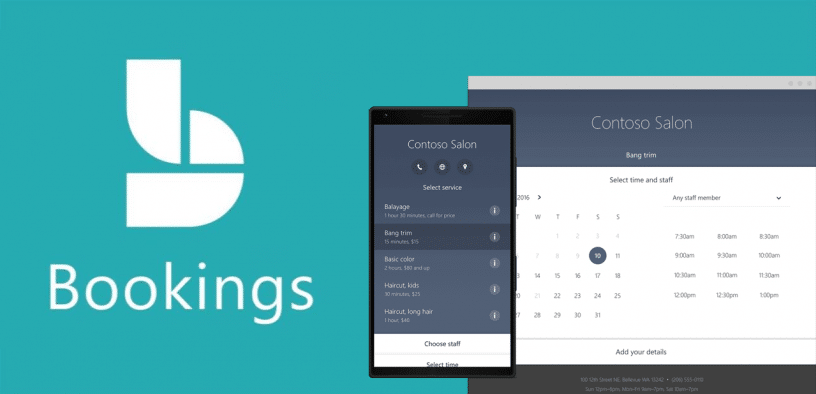 Set up Bookings to manage meetings using your outlook calendar