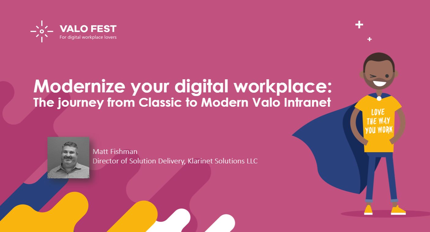 The Journey From Classic to Modern Valo Intranet