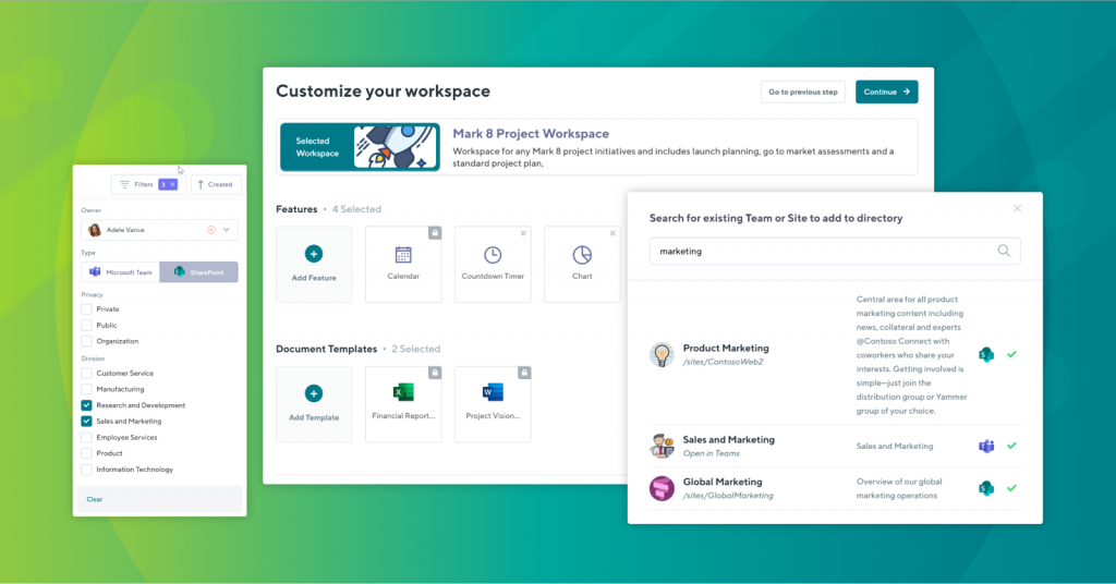 work made simple in microsoft teams by Orchestry